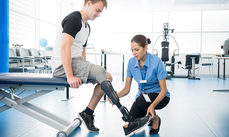 introducing Master of artificial limbs and assistive devices